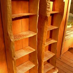 2 Tall Shelves