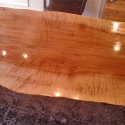 Dining Table Top View
