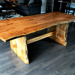 Maple Dining table Side View