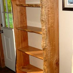 Side view of Shelf