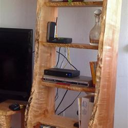 Narrow Maple Shelf