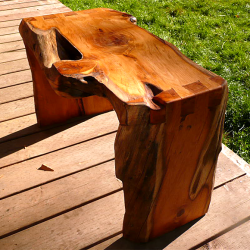 Western Yew Bench